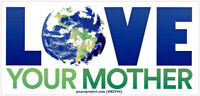 Love Your Mother - Small Bumper Sticker / Decal