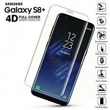Clear Full Cover Tempered Glass Screen Protector for Samsung Galaxy S8 PLUS