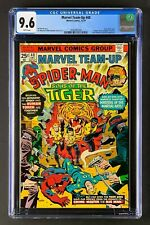 Marvel Team-Up #40 CGC 9.6 (1975) Spider-Man & Sons of the Tiger Fantastic Four