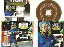 "MADONNA CD ""MUSIC"" 2000 GERMAN MAVERICK with INSERT DON'T TELL ME AMERICAN PIE"