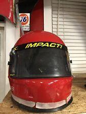 Juan Pablo Montoya Target Ganassi 42 Nascar Race Used Gas Man Pit Crew Helmet