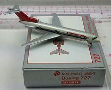 New Vintage Schabak NORTHWEST ORIENT Boeing 727-200 Diecast 1:600 scale