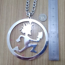 GNAYY Heavy 120g Large 5'' ICP Round HATCHETMAN  Stainless Steel pendant