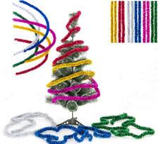 Shining 2.3M Tinsel Garland Christmas Tree Decoration Metallic Foil Colorful