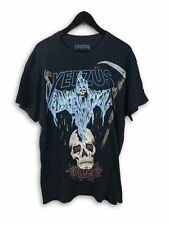 Yeezus Tour 2013 - Blue Splattered Reaper Shirt - Size Large