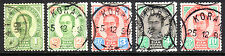 """Thailand / Siam 1899, REDRAWN ISSUE! USED with """"Korat"""" cancellation VERY SCARCE!"""
