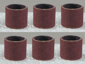 6 Grinding Sanding Bands MEDIUM Grit For All MASTER GROOMING TOOLS Nail Grinders