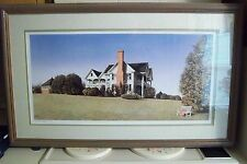 Claymont Hill signed and numbered,framed print by Mel Steele