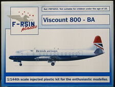 F-RSIN Models 1/144 VICKERS VISCOUNT 800 British Airways