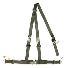 "Safety Devices Road Legal Harness, 3 Point Clubman 2""/2"" - Black"