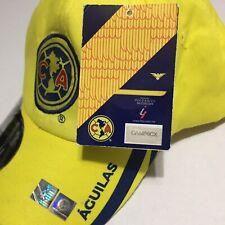 Club America Aguilas Futbol Soccer Fan Official Team Mexico Strapback Hat Cap