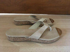 Jimmy Choo 'Pence' Patent Sandals Flip Flop Toe Post Thong EU 38.5 UK 5.5