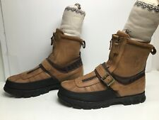 VTG MENS POLO WORK BROWN BOOTS SIZE 13 D