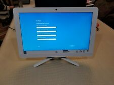 "HP 20-c023w ALL-IN-ONE 20"" Desktop PC 4GB RAM 500GB HDD Intel J3060 1.60GHz"