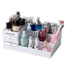 Kosmetik Make Up Organizer Schreib-Tisch Schmink Aufbewahrung Box 2 Schubladen W