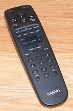 Genuine Sanyo (VWM-640) Grey TV / VCR Remote Control w/ Battery Cover *READ*
