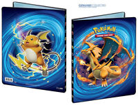 9-Pocket Mega Charizard Pokemon Card Storage Folder Portfolio 10 Pages included