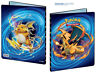 9-Pocket Mega Charizard Pokemon Card Storage Folder Portfolio 10 Pages included