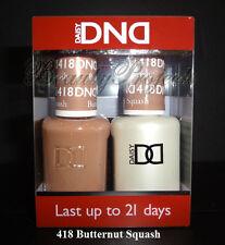 DND Daisy Soak Off Gel Polish Butternut Squash 418 full size 15ml LED/UV gel duo