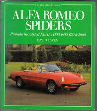 Alfa Romeo Spiders Pininfarina styled Duetto 1300 1600 1750 & 2000 Osprey