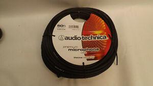 50' Audio-Technica Premium Microphone Cable XLR XLRM-XLRF
