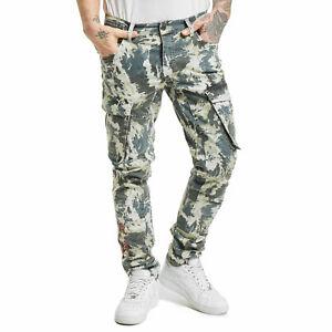 Neue Yakuza Herren Rules Cargo Pants - Camouflage