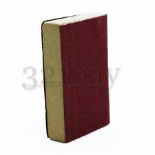 Rotes Maßstab Puppenhaus Miniatur Buch Schreibtisch Zubehör Bücherschrank 1zu12