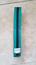 Taekwondo Karate Belt Martial Arts Green Black Striped Belt Size 4