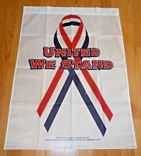 """L@K Brand New Valley Forge Decorative Banner United We Stand 28"""" X 40"""" Flag Usa"""
