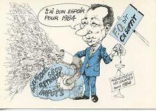 CARTE POSTALE FORCE OUVRIERE / J'AI BON ESPOIR POUR 1984 F.O. DIT CA SUFFIT