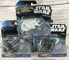 New Hot Wheels Star Wars Starships LOT OF THREE