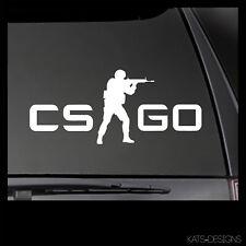 CS:GO Counter-Strike Go Logo Vinyl Decal!  Car Truck window sticker GAM-00036