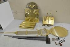 Hermle (Pearl) 1161-853 Grandfather Clock Set MOVEMENT DIAL PENDULUM WEIGHTS