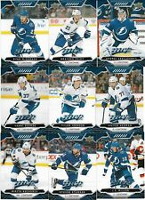 2019-20 MVP BLUE PARALLEL FROM FACTORY SET - TAMPA BAY LIGHTNING TEAM SET W/ RCs