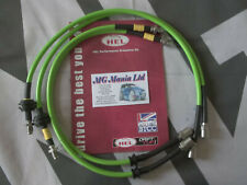 MGZT MG ZT MGZT-T Fully Stainless Steel Braided Brake Line Hose Kit XPower Green