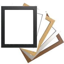 Photo Picture Frame Square Poster Frame Black White Oak Silver Multi sizes
