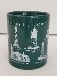Famous Lighthouses of America Coffee Cup Mug (K)*
