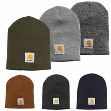 Carhartt Unisex Beanie Acrylic Knit Hat Knitted Cap Winter New