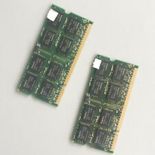2GB KIT 2x 1GB PC3200 DDR400 400MHz Sodimm Laptop Memory RAM Low Density model