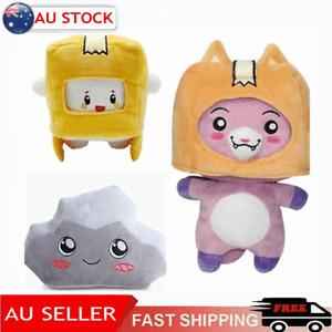 3PCS Lankybox Toys BOXY + FOXY + ROCKY Plush Soft Stuffed Game Figure Plushie AU