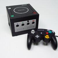 Nintendo Gamecube Black Console & Original Controller ONLY (Works, No Cords)