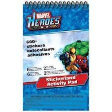 MARVEL HEROES HULK STICKERLAND ACTIVITY PAD PARTY FAVOR REWARD BIRTHDAY GOODIE