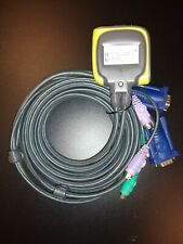 Iogear 2-Port Ps/2 Kvm Switch with Built-In Cables Gcs62Wm - New - Without Box