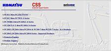 Komatsu CSS Service Engines