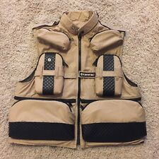 Mens Tamrac Mesh Lined Full Zip Photographers Photo Vest Made In USA Size SMALL