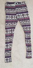 Paisley Leggings Hippy Boho Size 8