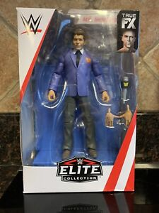 WWE Mr. Vince Mcmahon Elite Collection Action Figure