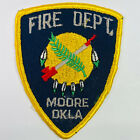 """Moore Fire Department Cleveland County Oklahoma OK Patch (F6-B) 3.75"""""""