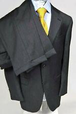 Austin Reed Men's Classic Charcoal Gray 100% Wool 2 Button Men's Suit Size 41