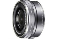 Sony SELP1650 E Mount - APS-C 16-50mm OOS PZ F3.5-5.6 Zoom Lens BRAND NEW SILVER
